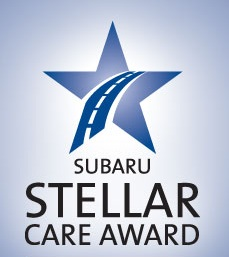 Subaru Stellar Care Award